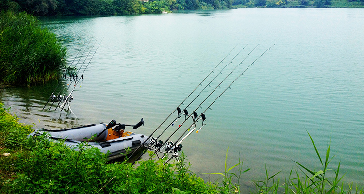 Pesca Sportiva - Lago Atlantide Fishing